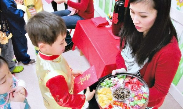 We teach and embrace Chinese traditions, such as Chinese greetings for the Lunar New Year.
