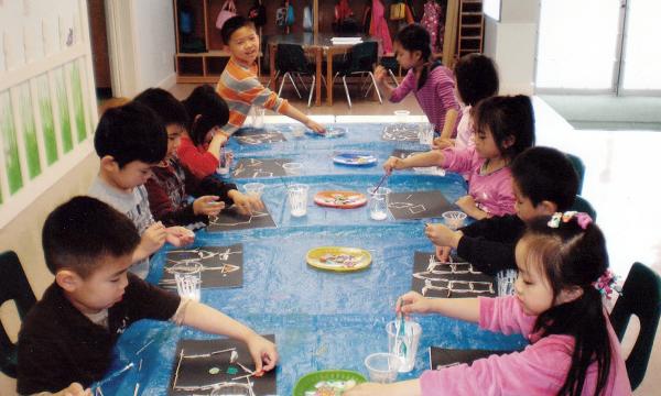Brainbridge art activities
